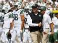 Jets head coach Rex Ryan reacts after a