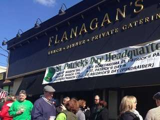 Flanagan?s Ronkonkoma, during the 2014 St. Patrick's Day
