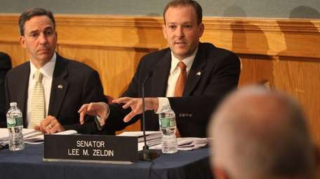 State Sen. Lee Zeldin called on the MTA