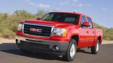 The 2010 GMC Sierra.