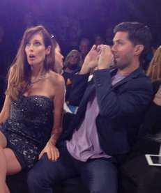Model and LI-er Carol Alt was a front-row