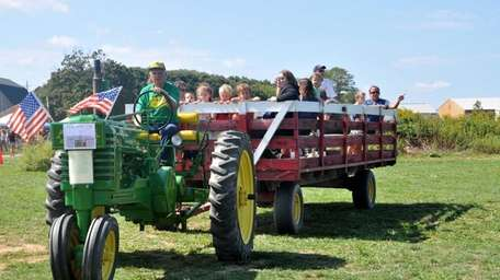 The Hallockville Fall Festival and Crafts show will