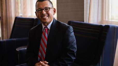 Robert Stricoff, new executive director of the Suffolk
