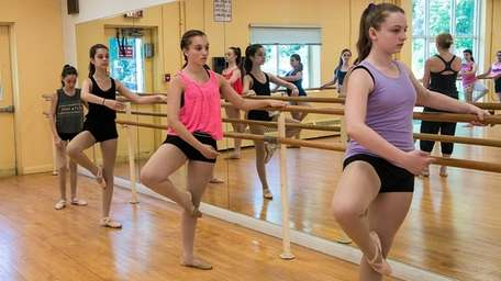 Dance classes were among the many courses offered