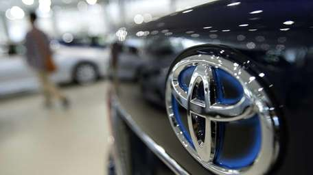 The Toyota Motor Corp. logo is displayed on