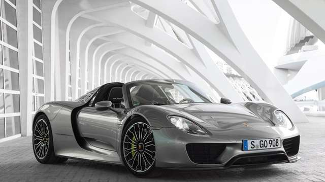 Porsche has recalled some of its Spyder supercars