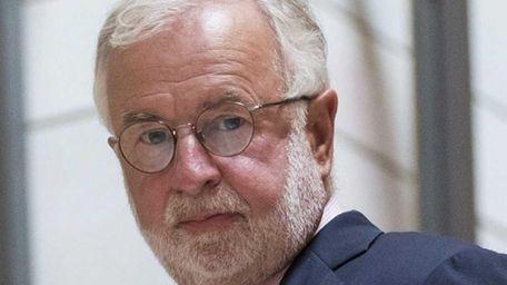 Rep. Tim Bishop, D-N.Y. walks to a national