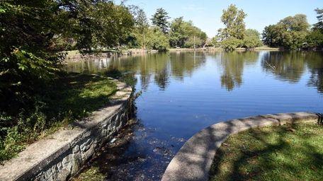 Gerry Pond Park in Roslyn on Sept. 10,
