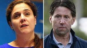 Leigh Castergine, left, has accused Mets Chief Operating