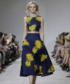 Michael Kors' collection for Spring 2015 at Mercedes-Benz