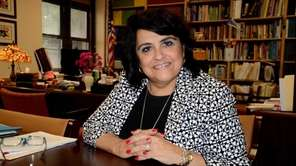 Lucille Iconis, superintendent of the Massapequa School District,