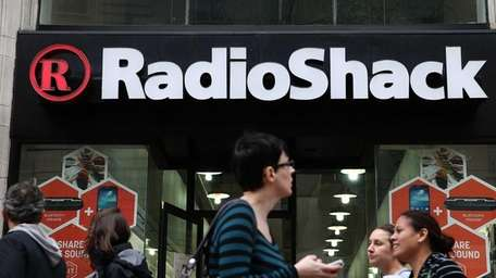 A RadioShack store on March 4, 2014, in