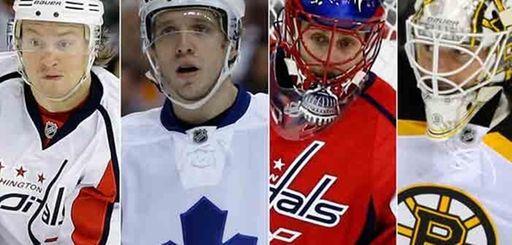 New members of the Islanders: Mikhail Grabovski, left,