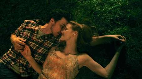 James McAvoy and Jessica Chastain star in