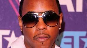 R&B singer Jeremih is shown at the Hammerstein