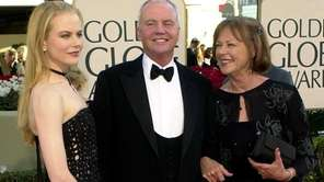 Nicole Kidman, left, with her parents Tony and