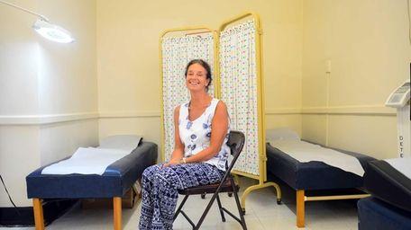 Camp Avenue Elementary school nurse Mari Titterton at