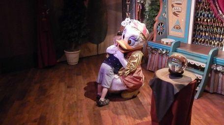 Daisy Duck at The Magic Kingdom in Orlando,