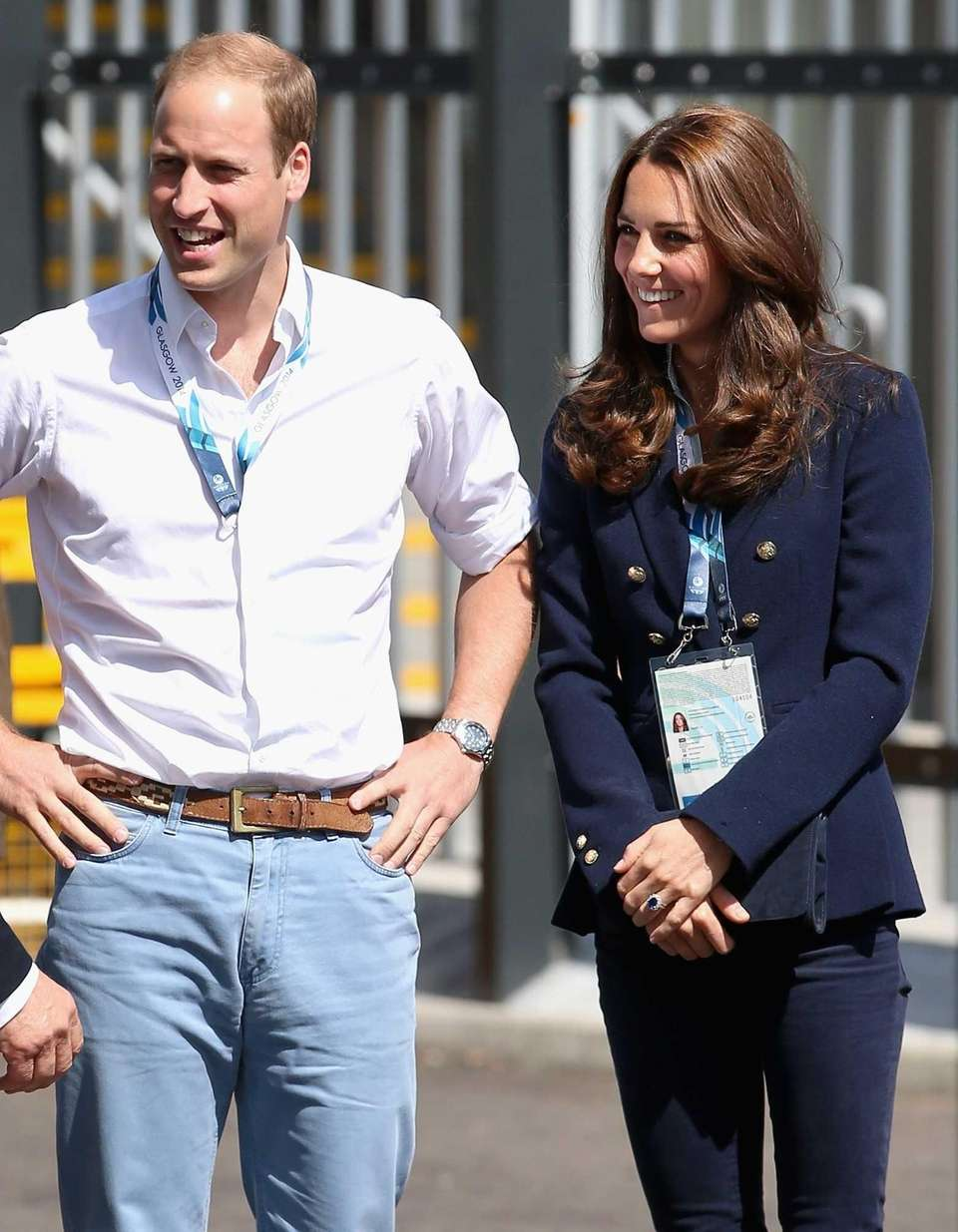 Prince William and Kate arrive at the SSE