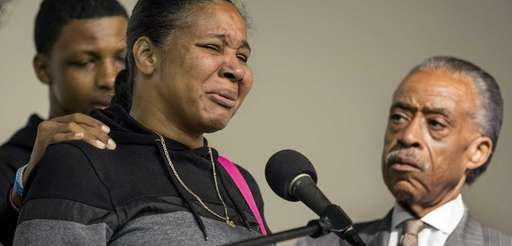 Esaw Garner, wife of chokehold victim Eric Garner,