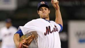 Binghamton Mets starting pitcher and former Mets number