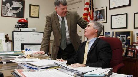 Richard Schaffer, before becoming Babylon Town Supervisor, talks