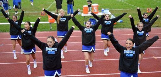 Hauppauge cheerleaders