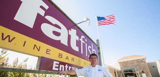 Brian Valdini, owner and chef at fatfish Wine
