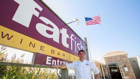 Brian Valdini, owner and chef at fatfish Wine