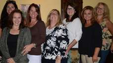 Massapequa Moms Group members gather at Zona's restaurant