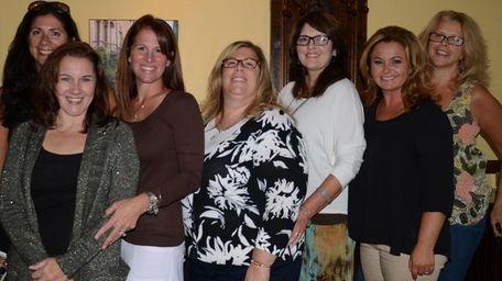 Massapequa Moms Group members gather at Zona's restaurant