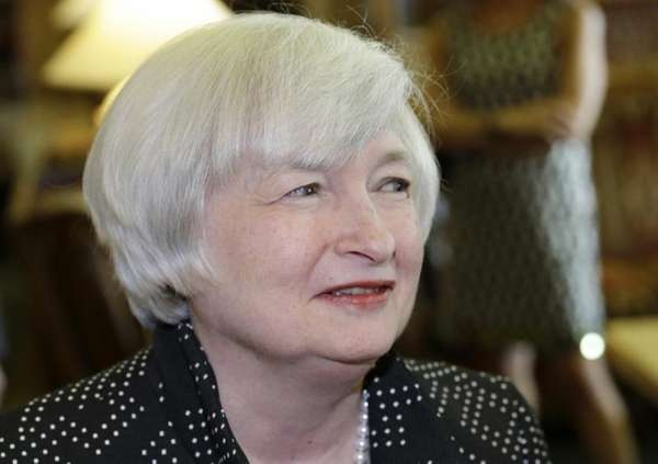 Federal Reserve Chair Janet Yellen at the Jackson