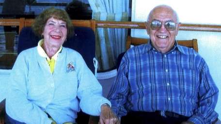 Eileen and Manny Darwin of Huntington on a