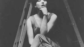 Barbra Streisand, age 21, is shown in rehearsal