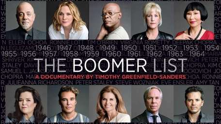 """The Boomer List,"" a documentary airing as part"