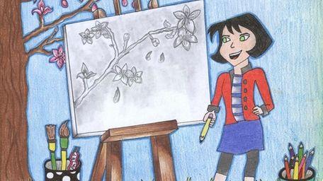 Kidsday staff artist, Aman Umer, of Dix Hills,