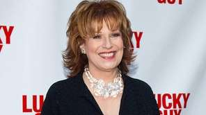 "Joy Behar arrives at the ""Lucky Guy"" Opening"