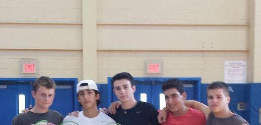 From left, Jordan Rosen, David Jaslow, Simon Adler,