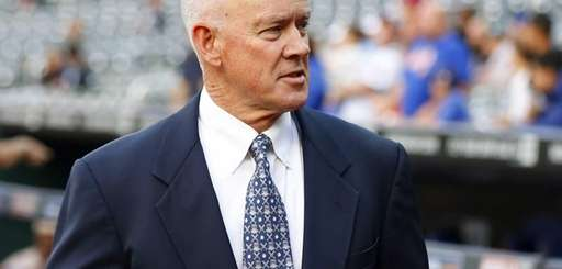 General manager Sandy Alderson of the New York
