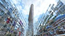 A rendering of the Flatiron 23rd Street Holiday