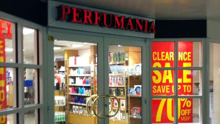 Perfumania at Penn Station in an undated photo.