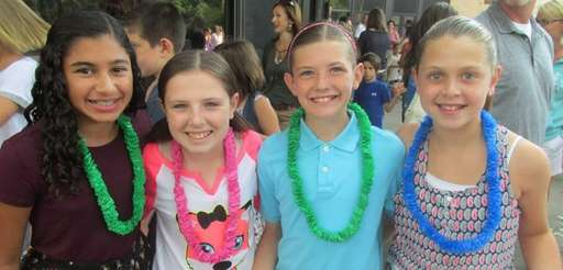 In Port Jefferson, the middle school?s incoming sixth-graders