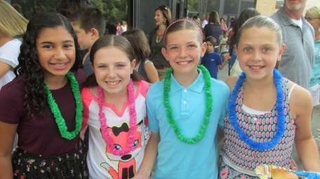 In Port Jefferson, the middle school's incoming sixth-graders