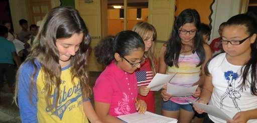 In Glen Cove, students at Robert M. Finley