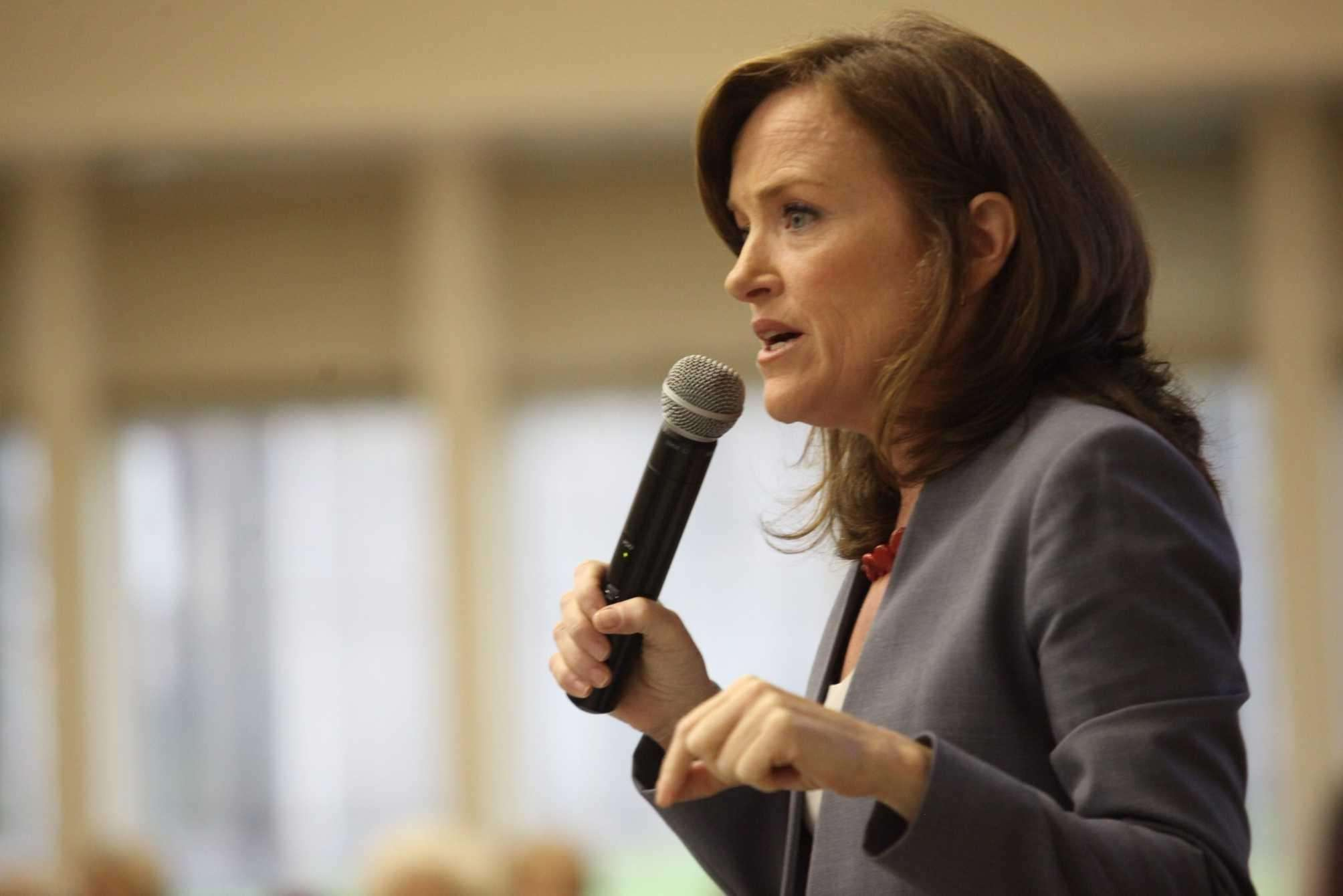 Nassau County District Attorney Kathleen Rice speaks on Tuesday, Sept. 16, 2014 in New Hyde Park.