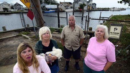 From left to right: Rhonda Verrier, Mildred Perrotta,