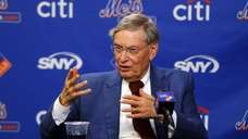Major League Baseball commissioner Bud Selig speaks during