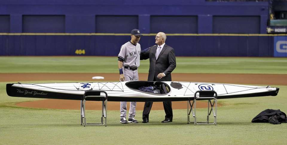 TAMPA BAY RAYS The Rays gave Jeter a