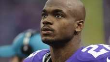 Adrian Peterson, pictured in 2013, has been suspended