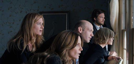 From left, Kathryn Hahn as Annie Altman, Tina